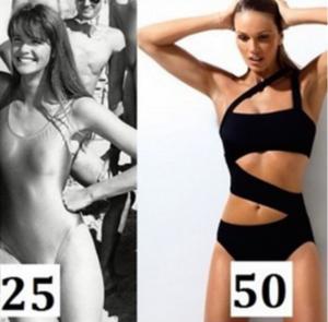 Women over 50 in great shape